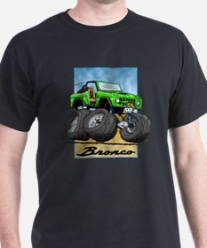 Green Early Bronco T-Shirt