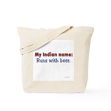 RunsBeer Tote Bag