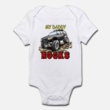 My Daddy Rocks Infant Bodysuit