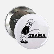 Piss on Obama Button