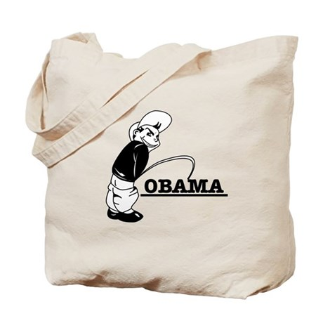 Piss on Obama Tote Bag
