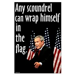 Bush Flag Wrapper Posters