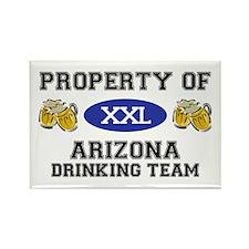Property of Arizona Drinking Team Rectangle Magnet