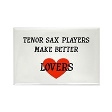 Tenor Sax Gift Rectangle Magnet