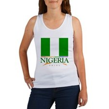 Nigeria Pride Flag Women's Tank Top