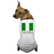 Nigeria Pride Flag Dog T-Shirt