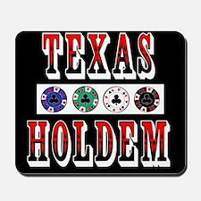 Texas Holdem Chips Mousepad