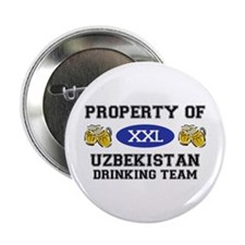 "Property of Uzbekistan Drinking Team 2.25"" Button"