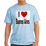 I Love Buenos Aires Argentina Light T-Shirt
