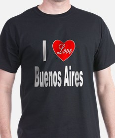 I Love Buenos Aires Argentina (Front) T-Shirt