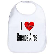 I Love Buenos Aires Argentina Bib