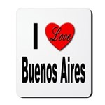 I Love Buenos Aires Argentina Mousepad