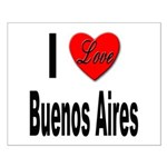 I Love Buenos Aires Argentina Small Poster