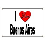 I Love Buenos Aires Argentina Banner