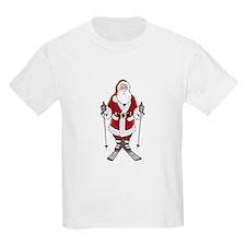 Santa Ski T-Shirt