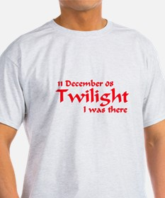 Twilight I was there Australia T-Shirt