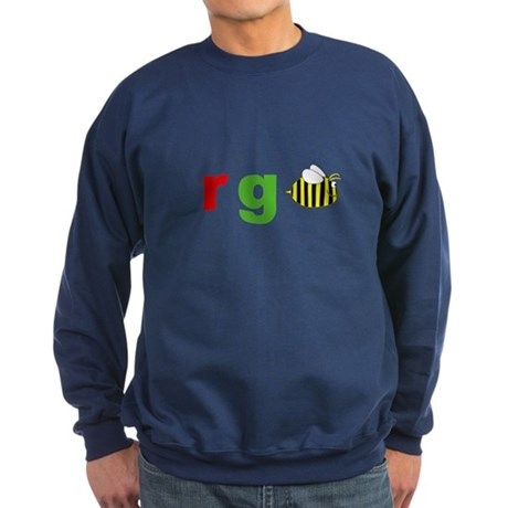 r g bee Sweatshirt (dark)