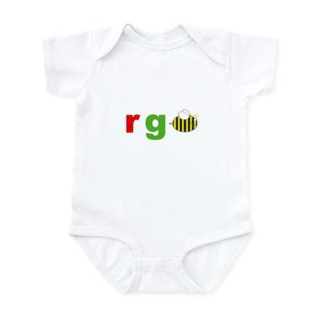 r g bee Infant Bodysuit