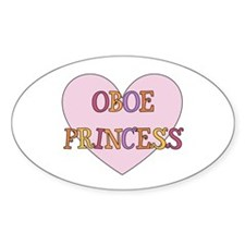 Oboe Gift Oval Decal