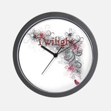 Twilight Dazzle Wall Clock