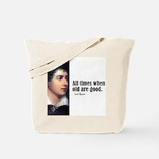 "Byron ""All Times"" Tote Bag"