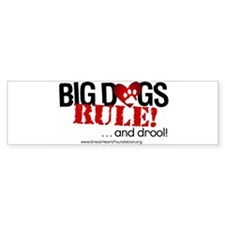 Big Dogs Rule Bumper Sticker (50 pk)