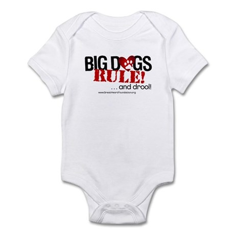Big Dogs Rule Infant Bodysuit