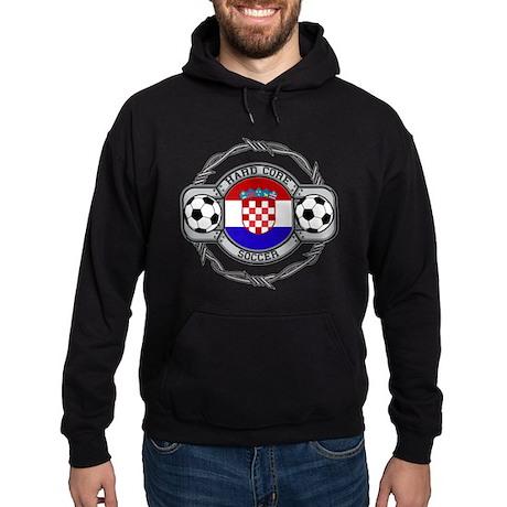 Croatia Soccer Hoodie (dark)