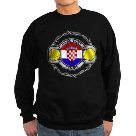 Croatia Tennis Sweatshirt (dark)