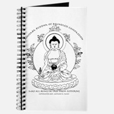 Medicine Buddha BW Journal