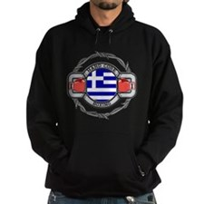 Greece Boxing Hoodie