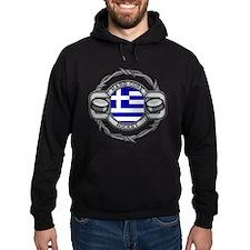 Greece Hockey Hoodie