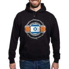 Israel Basketball Hoodie