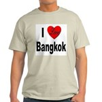 I Love Bangkok Thailand (Front) Light T-Shirt