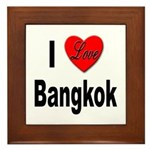 I Love Bangkok Thailand Framed Tile