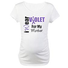 I Wear Violet Ribbon Shirt