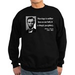 Abraham Lincoln 34 Sweatshirt (dark)