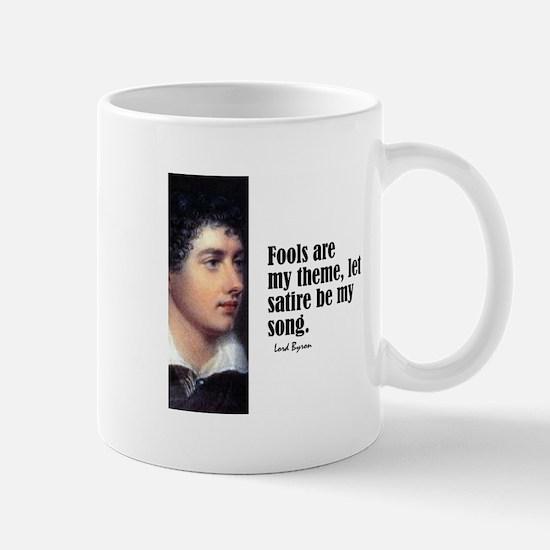 """Byron """"Fools"""" Mug"""