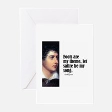 "Byron ""Fools"" Greeting Cards (Pk of 10)"