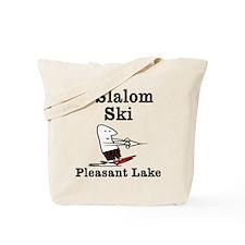 I Slalom Ski Pleasant Lake Tote Bag