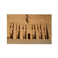 Temple of Hathor Rectangle Magnet