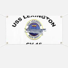 USS Lexington CV 16 Banner