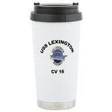 USS Lexington CV 16 Travel Coffee Mug