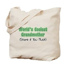 World's Coolest Grandmother Tote Bag