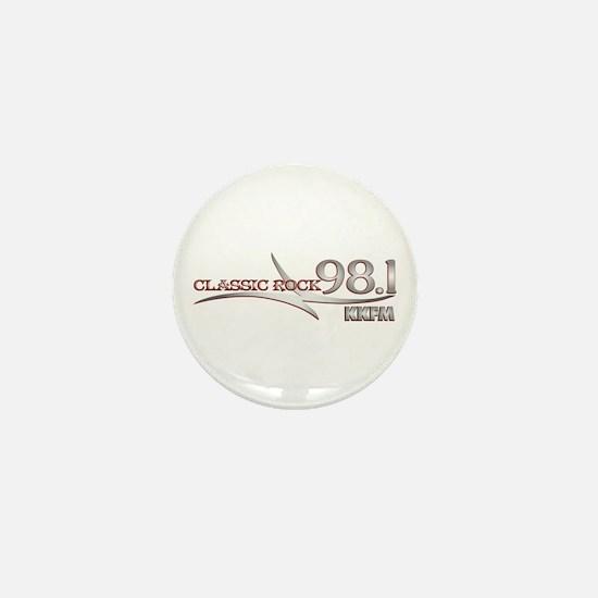 Unique Classic radio Mini Button