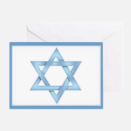Star of David Greeting Card