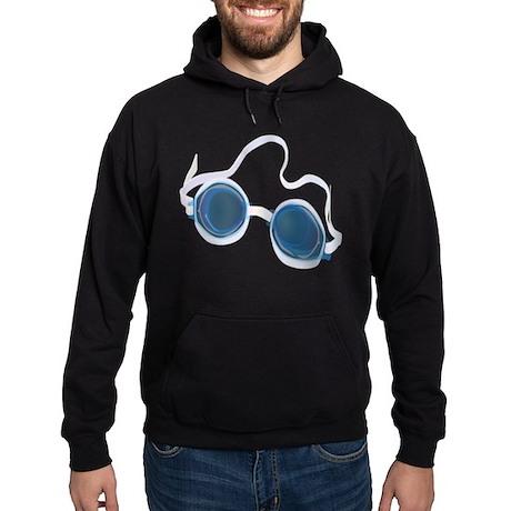 Swimming Goggles Hoodie (dark)