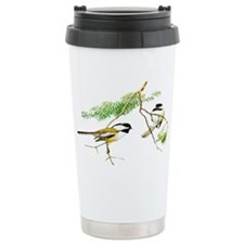 Chickadee Art Travel Coffee Mug