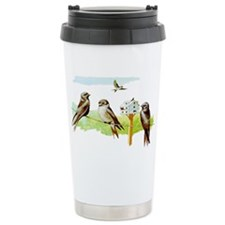 Purple Martin Bird Travel Mug