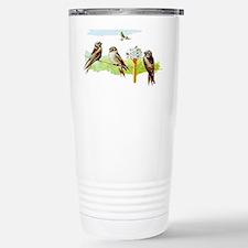 Purple Martin Bird Travel Mug